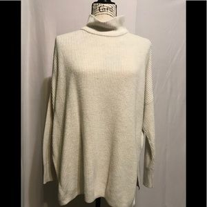 Sonoma used off white turtleneck sweater